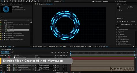adobe after effects text animation templates previewing in the primary viewer in after effects angie