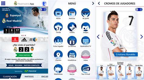 Microsoft Real Madrid nueva aplicaci 243 n real madrid desarrollada por microsoft