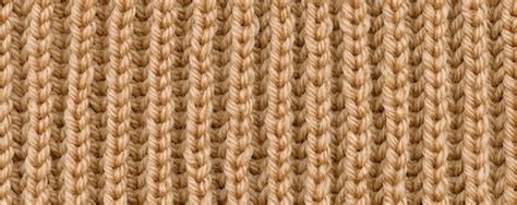 rib knit fisherman s rib brioche stitch