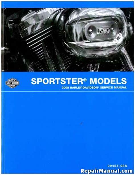 Harley Davidson Sportster Service Manual by 2008 Harley Davidson Sportster Motorcycle Service Manual