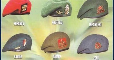 Topi Baret Kostrad By Bareto islam itu indah kenapa baret tentara miring kekanan