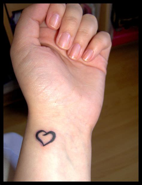 wrist tattoo heart tattoos designs ideas and meaning tattoos for you