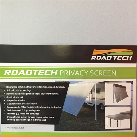 awning screen panels awning privacy end panel t s caravan grey pilgrims caravan and rv parts