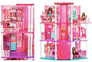 amazon barbie dream house amazon barbie dream house and gund holiday bear only 109 99 shipped more toy