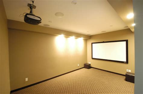 media room projectors interior design