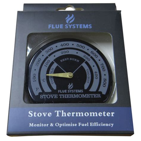 Chimney Flue Thermometer - stove pipe thermometer magnetic fluesystems fs2
