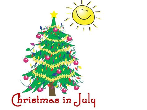 christmas in july christmas in july the spirit season