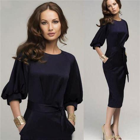 Hoodie Technics Roffico Cloth autumn dress womens office dresses half sleeve formal bodycon midi dre honeybee line