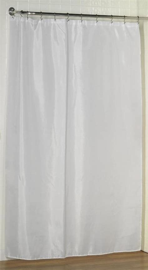 carnation fabric shower curtain liner white sc
