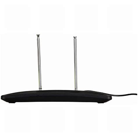 uhf vhf passive indoor tv antenna desk or wall mount ebay