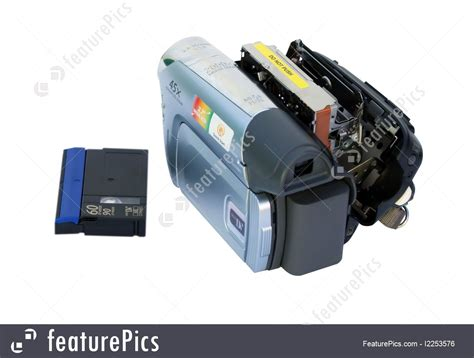 cassetta mini dv photo and dvd camcorder and a mini dv cassette