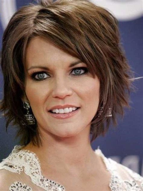 short shag haircuts for women over 40 shag hairstyles beautiful short layered shag hairstyles