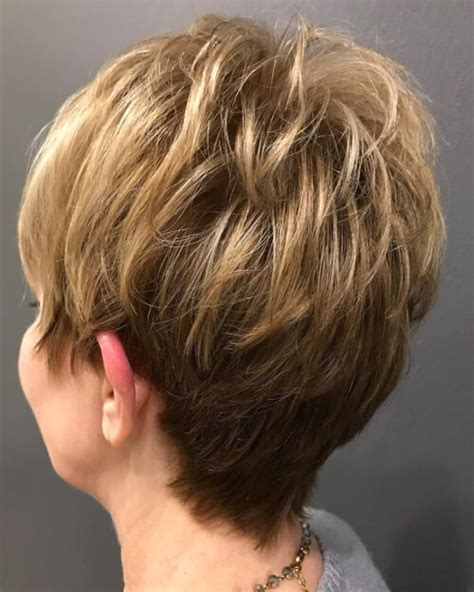 piecey short hairstyles short piecey hairstyles for women over 50