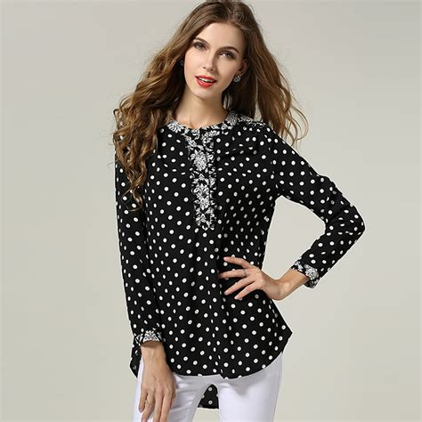 Retro Pattern Blouse 217211 shirt importer picture more detailed picture about polka dot blouse vintage floral