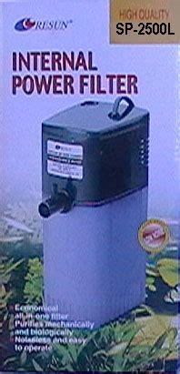 Resun Sp 2500 By Aquawindows aquariums r us resun filters