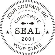 Corporate Digital Seals Corporate Seal Template