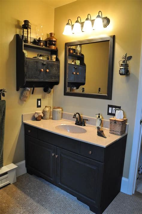 primitive bathroom vanities with amazing inspiration