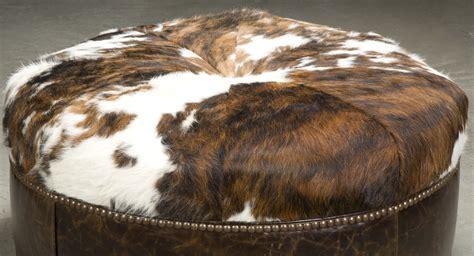 hair on hide ottoman hair on hide ottoman hair on hide ottoman otto brown