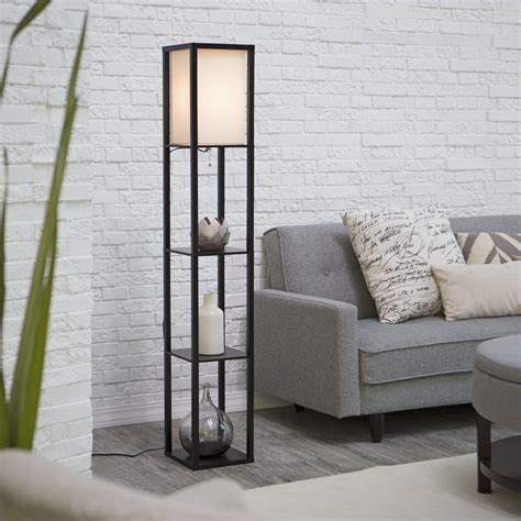 adesso etagere floor l with drawer adesso hamilton floor l floor ls at hayneedle