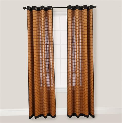 curtain bamboo bamboo curtain panels 96 home design ideas