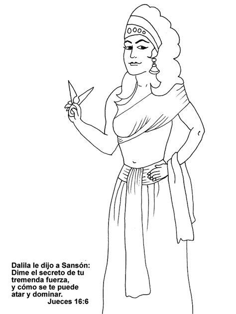 dibujos para nios de la historia de sanson dalila sanson para colorear tijeras dibujos biblicos