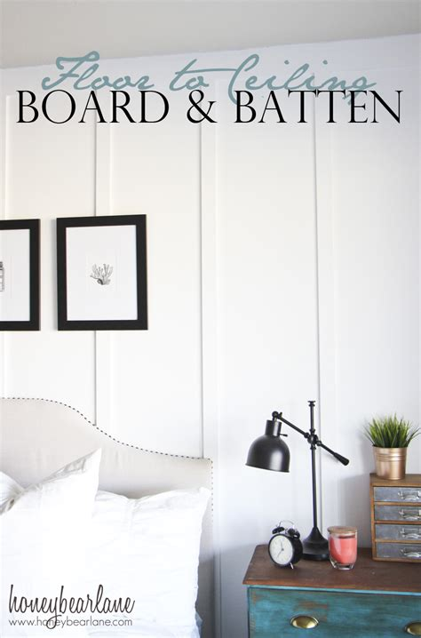 Interior Home Painting Cost Floor To Ceiling Board And Batten Tutorial Honeybear Lane