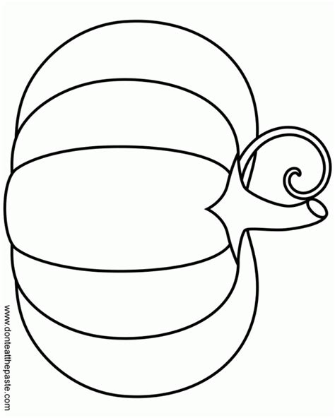coloring pages of pumpkin pie blank pumpkin coloring pages coloring home