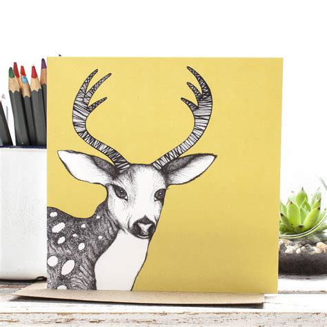Original Penguin Gift Card - penguin stag polar bear and highland cow gift cards by jessica wilde