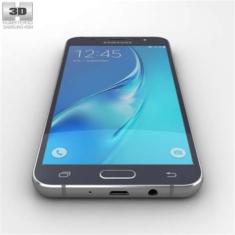 3d Samsung J5 samsung galaxy j5 2016 black 3d model hum3d