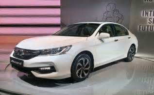 2017 honda accord sport new engine and model redesign