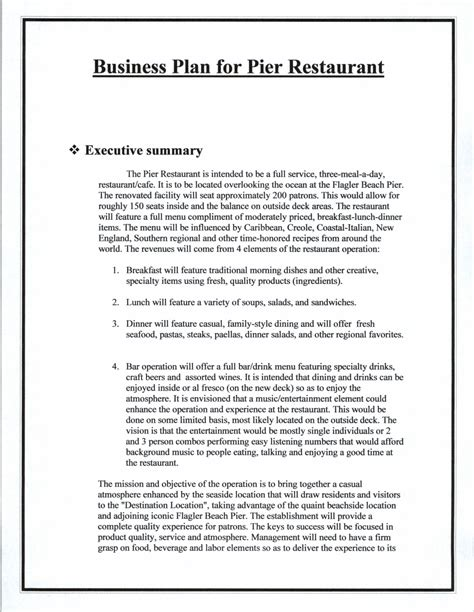 Business Plan Sle Coffee Shop Business Plan Sles Coffee Shop Business Plan Template Pdf