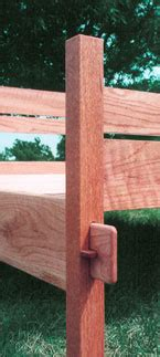 Oak Bed Frame Mortise And Tenon Bed Frame