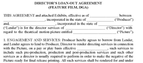 directors loan agreement template free directors loan agreement free template 28 images 891