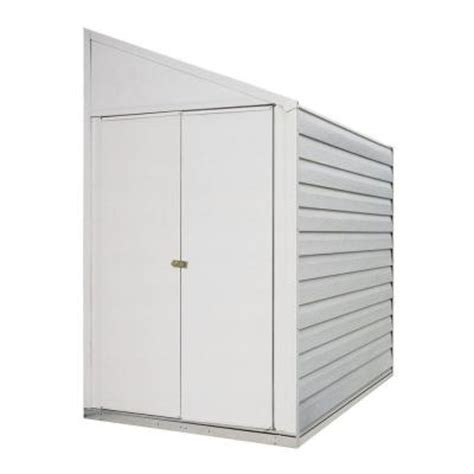arrow yard saver 4 ft x 7 ft storage shed ys47 the