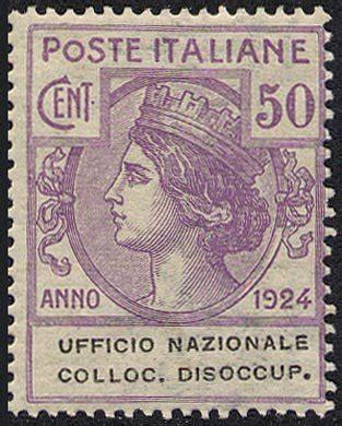 ufficio di collocamento a roma 1924 enti semistatali regno ufficio nazionale
