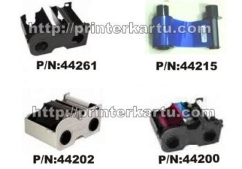 Asli Impor Ribbon Black For Id Card Printer Dtc 4500 045202 ribbon fargo c30e printer kartu printer id card