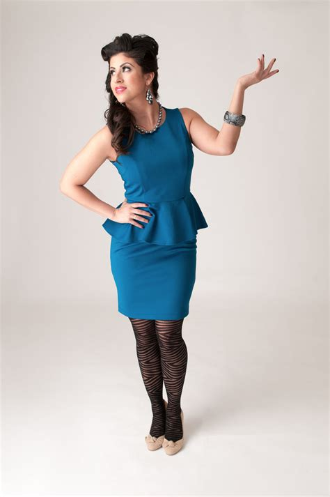 how to dress good for women i their 40s women in blue dress by mocity on deviantart