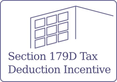 irs section 179d 179d energy tax deduction national cost