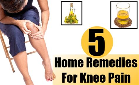 knee home remedies supplements