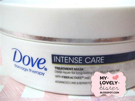 Dove Shoo Total Damage Treatment my lovely a with dove damage therapy