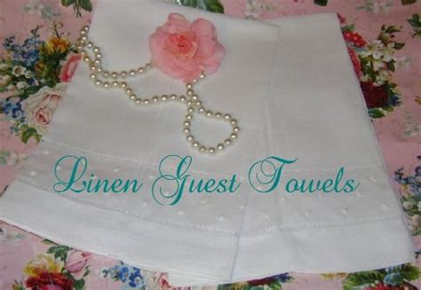 Linen Guest Towels For Bathroom by Guest Towels