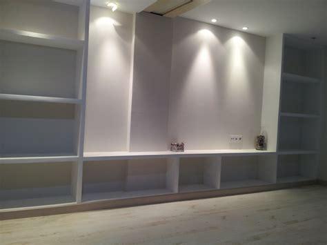 foto mueble de salon de pladur de consrees