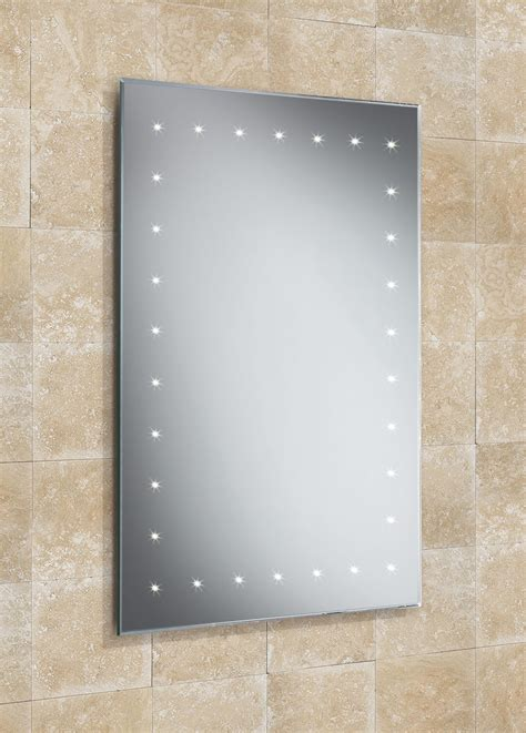 Bathroom Mirrors Qs Hib Solar Led Bathroom Mirror 500 X 720mm 73104095