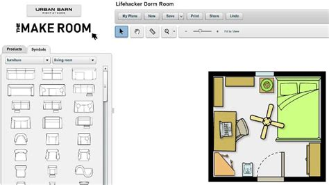 furniture room layout the make room planner simplifies room design lifehacker