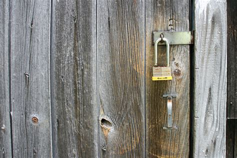 Shed Lock by Shed Lock Flickr Photo