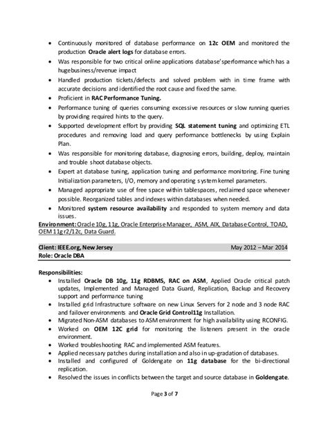 Oracle Dba Resume by Satheesh Oracle Dba Resume