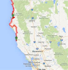 lost coast california map august 2014 the philtrons pedal