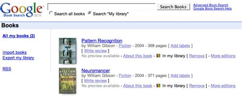 pattern library google google book search my library pattern recognition