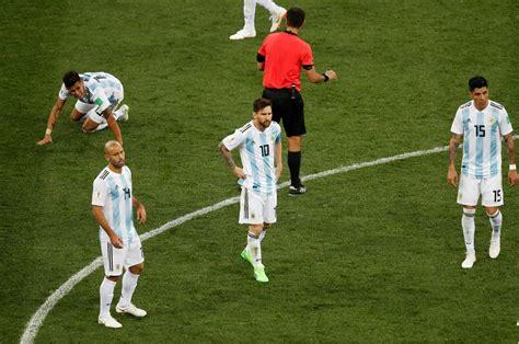 argentina vs croatia thảm họa messi v 224 argentina