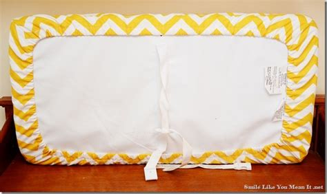 Changing Table Pad Cover Pattern Smile Like You It Changing Pad Cover Tutorial